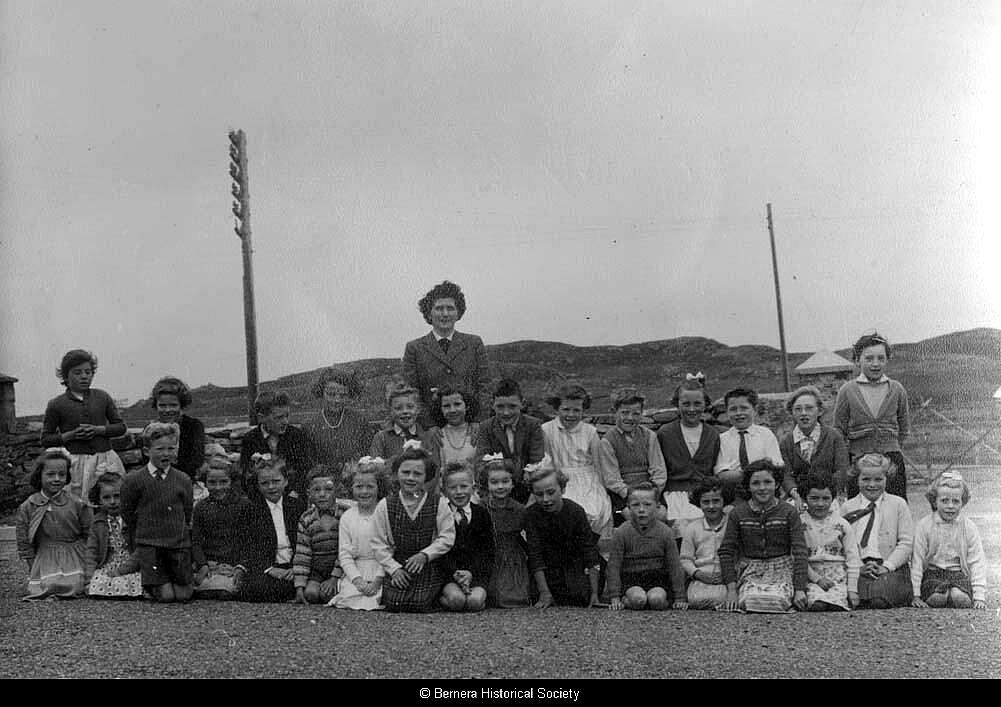 Bernera school group 1963