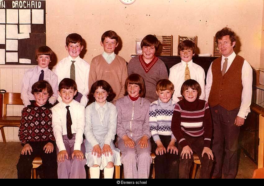 Bernera school 1977