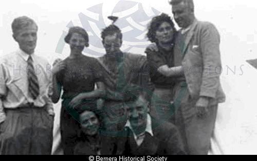 A group of Bernera friends