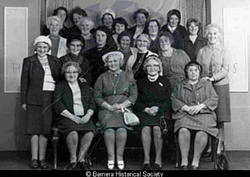 Bernera ladies group photo