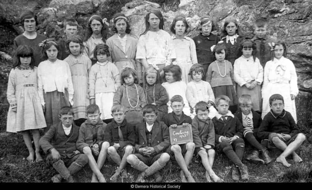 Crulivig school pupils, 1923