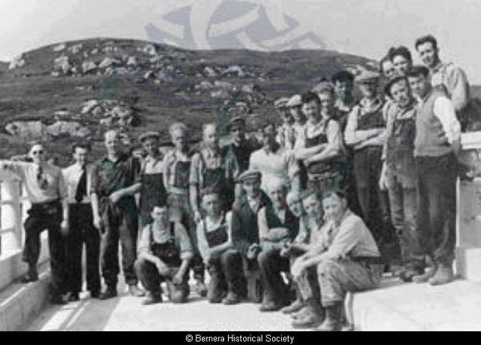 Work Crew on Bernera Bridge