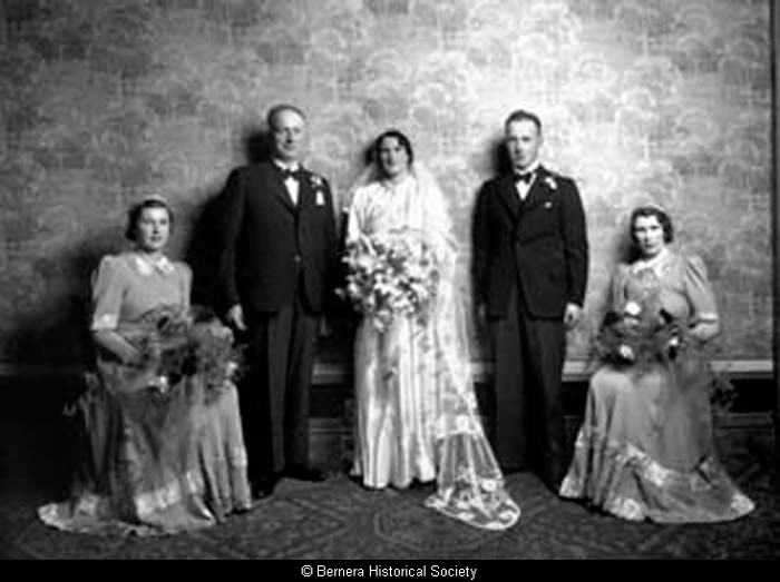 Marriage of Sandy and Mary Gordon