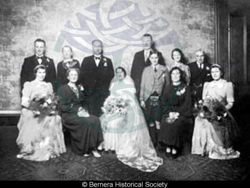 The marriage of Mary Macdonald & Sandy Gordon