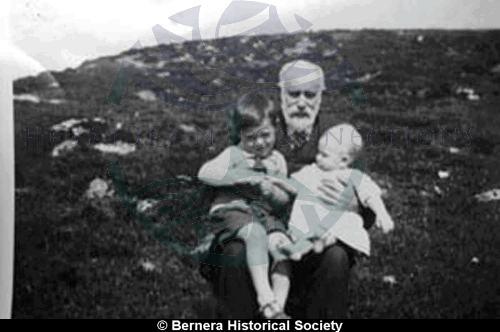 Norman Macdonald 25 Kirkibost and grandchildren