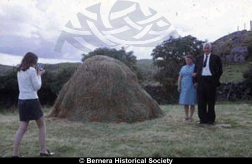 Marietta Macdonald, 14 Kirkibost and her parents