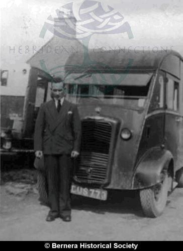 Donald C Macdonald, 11 Kirkibost with van