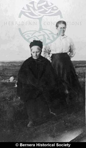 Mor a Cheannaich and daughter-in-law