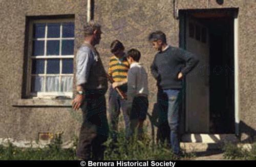 Group outside 11 Kirkibost