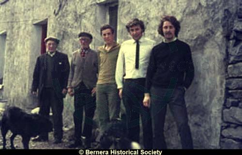 Five men at 12 Kirkibost