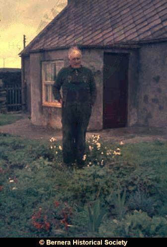 Norman Macdonald 24 Kirkibost in the garden