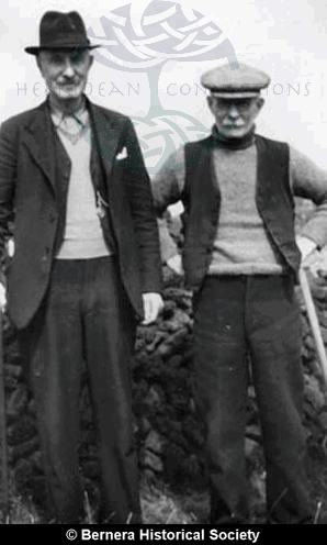 Two  men from 11 and 6 Kirkibost
