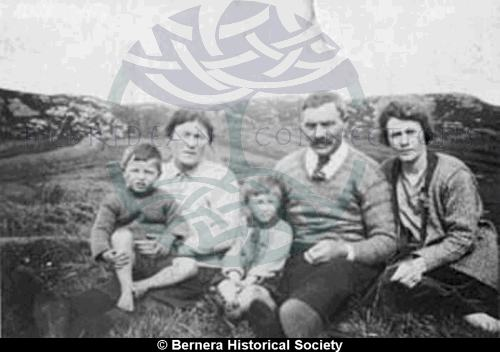A family group  and from 2 Kirkibost