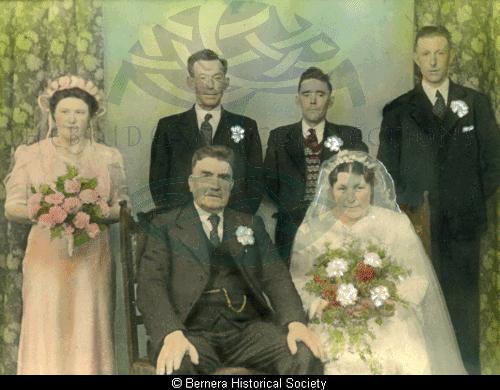 The marriage of Mr & Mrs N Maclennan, 10 Kirkibost