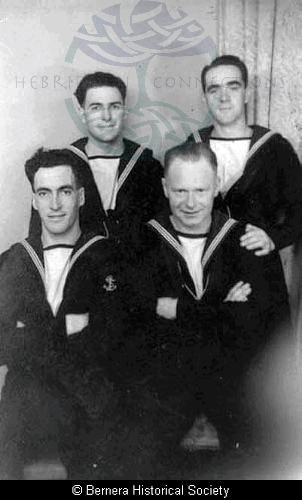 Four sailors from Bernera/Uig