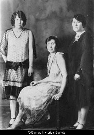 Three Bernera ladies