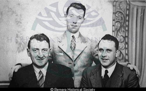 Three Bernera men
