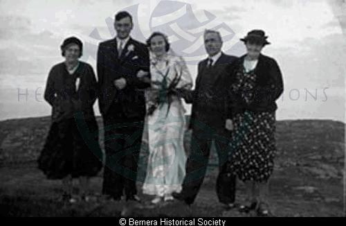 Marriage of Murdo & Mary Macdonald, Thule House, Tobson