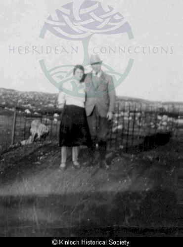 Jessie and Donald Mackenzie, 11 Arivruach