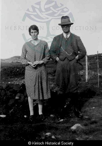 Peggy and Donald Mackenzie, 11 Arivruach