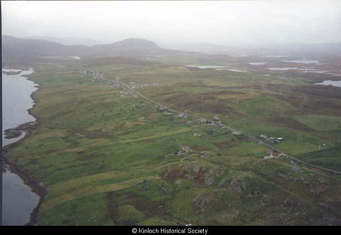 Aerial view of Balallan