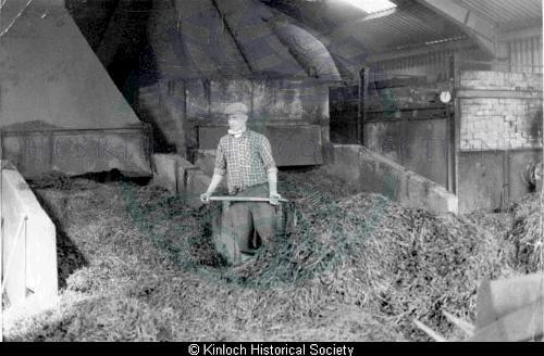 Hector Macaulay, 31 Balallan at Seaweed Factory, Keose