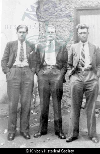 Kinloch men in Peru