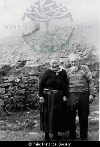 John Morrison and Marion Macinnes, 9 Calbost