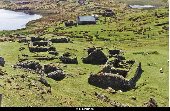 Calbost village ruins