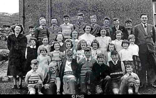 Cromore School, 1953
