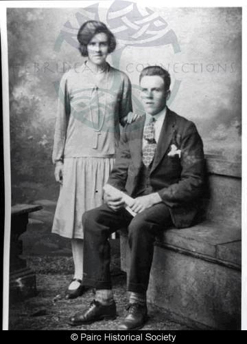 Effie and Alex Mackay, 28 Gravir