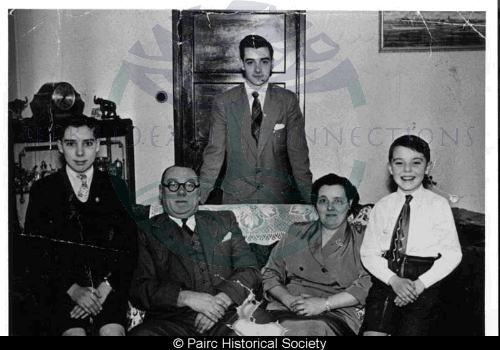 John Macmillan and family, Nairn