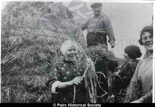 Making a haystack in Gravir