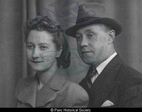 Roderick Campbell and Winifred