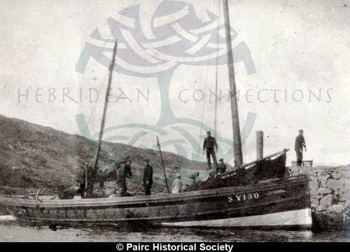 Fishing boat, the 'Mary'