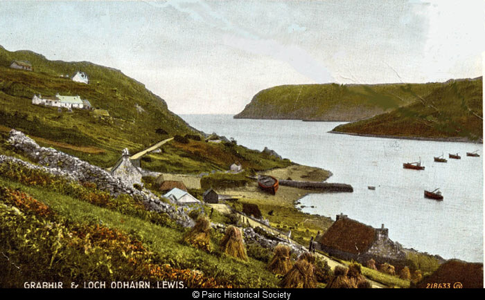 Postcard of Gravir