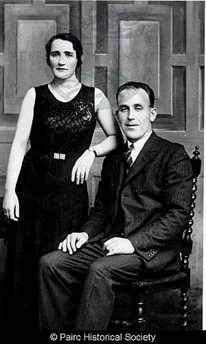 Joan Macleod, 6 Habost with her husband