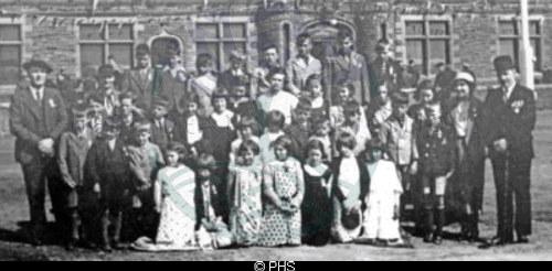 Kershader School, Coronation 1937
