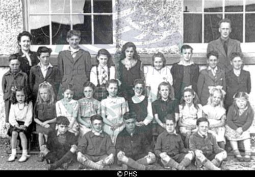Kershader School, c1949