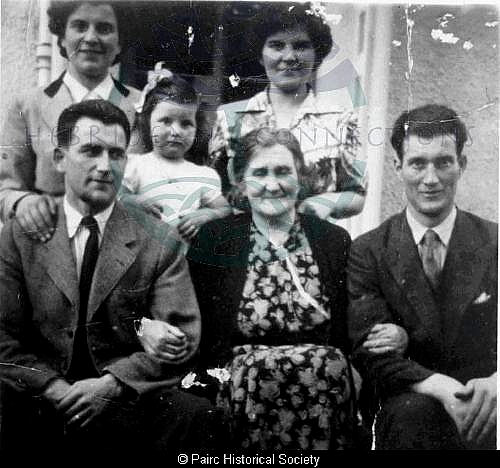 Family at 13 Orinsay