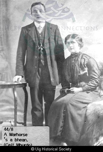 Murdo Morrison Stornoway and Kate Maclean, Aird Uig