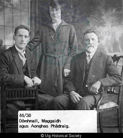 Macritchie family, Aird Uig