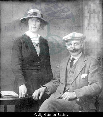 Mary Mackenzie niece of John Mackenzie (Blinky), Aird Uig
