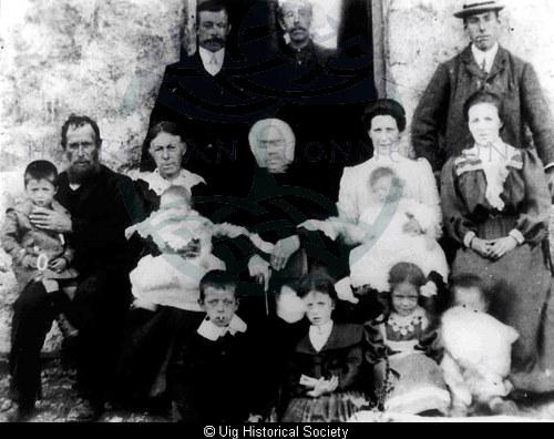 Mackenzie family Aird Uig
