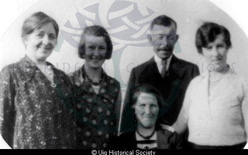 Mackenzie family, Aird Uig