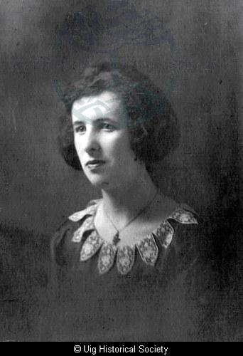 Mary Ann Mackenzie, Aid Uig