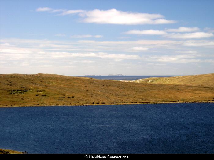 The Flannan Isles from Uig
