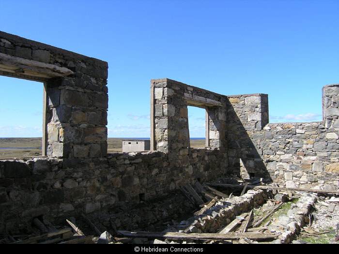 Brenish School, in ruins