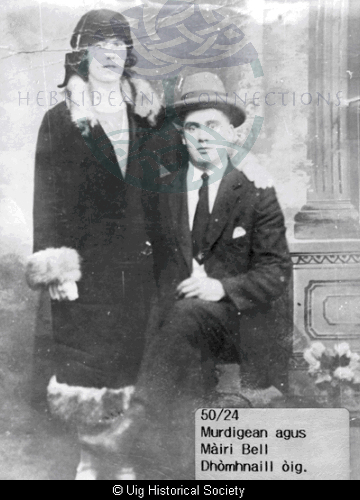 Murdanie Macleod and his sister Mary Bell