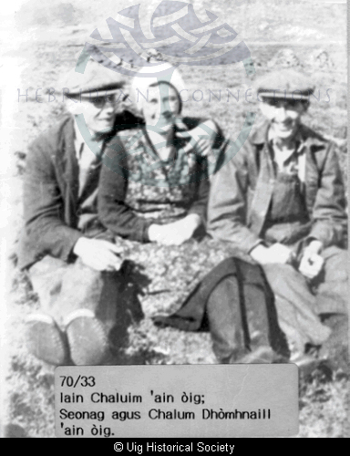 John Macleod, Johan Macleod and her brother Calum